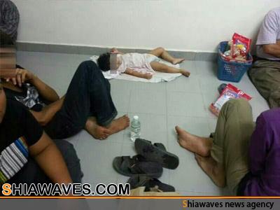 تصویر نخستین تصاویر منتشرشده از وضعیت 200شیعه در بند رژیم مالزی