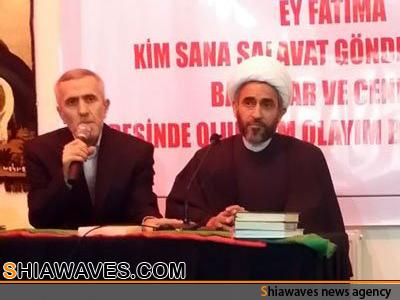 تصویر گزارشی از سفر نماینده آیت الله العظمی شیرازی به مراکز مذهبی و فرهنگی ترکیه