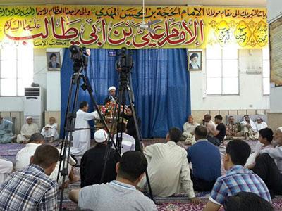 تصویر روایت تصویری از مراسم میلاد امیر المومنین علی علیه السلام در دفتر آیت الله شیرازی در دمشق