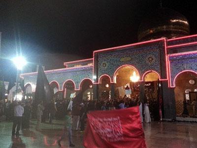 تصویر جهان در عزای عقیله بنی هاشم حضرت زینب کبری سلام الله علیها