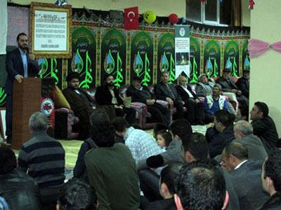 تصویر فعالیت های مؤسسه فرهنگی رسول اکرم صلی الله علیه وآله در ترکیه