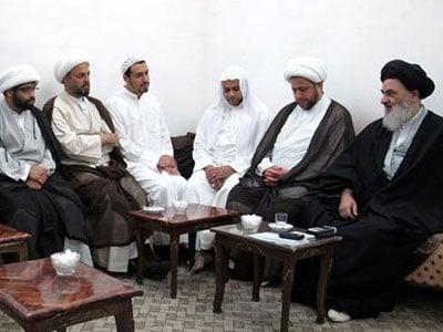 تصویر حضرت آیت الله العظمی شیرازی: مرحوم آیت الله العظمی میرزا محمّدتقی شیرازی، الگوی مناسبی برای اهل علم می باشند