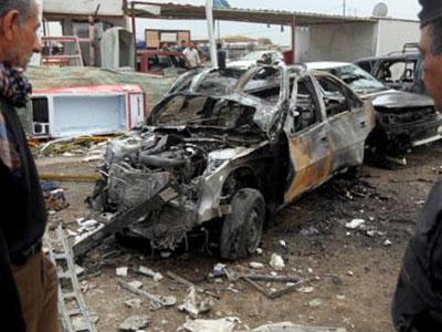 تصویر حمله انتحاری علیه شیعیان یمن