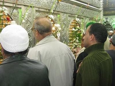 تصویر برگزاری مراسم میلاد امام حسین علیه السلام در قاهره مصر