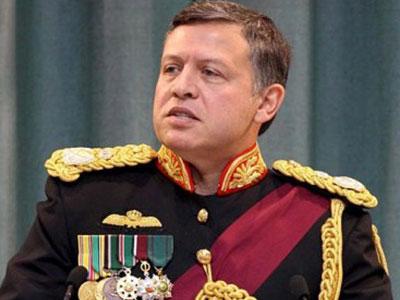 تصویر حمایت صریح پادشاه اردن از تروریست های داعش