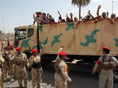 تصویر 90هزار داوطلب مقابله با داعش در بصره گردهم آمدند