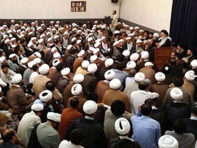 Photo of بیانات ارزشمند آیتالله العظمی شیرازی در گردهمایی بزرگ مبلغان