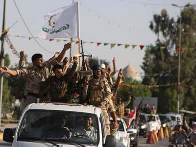 تصویر عملیات تروریستی در شهر کاظمین عراق