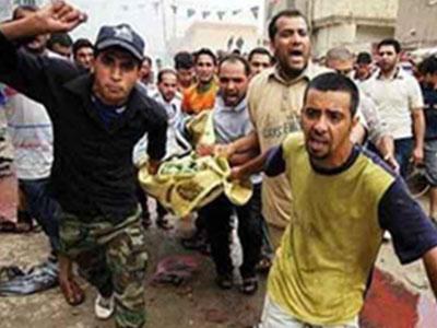 تصویر انفجار تروریستی در شهر سامراء