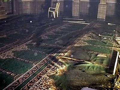 تصویر به آتش کشیده شدن مسجد شیعیان در استانبول ترکیه