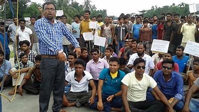 تصویر یورش پلیس هند به تظاهرات مسالمت آمیز مسلمانان این کشور