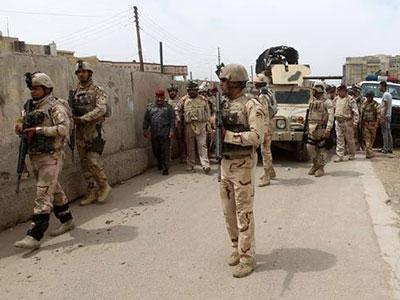 تصویر عملیات بزرگ در استان الانبار، برای محاصره داعش