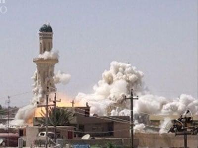 تصویر ۵۰ زیارتگاه در لیست تخریب داعش
