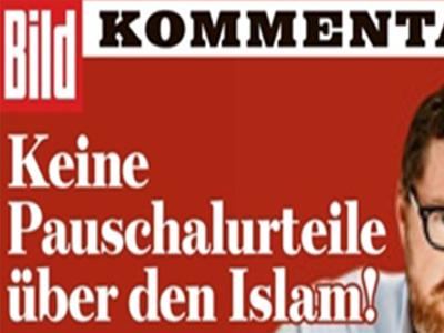 تصویر واکنشهای انتقادی به مطالب توهین آمیز یک روزنامه آلمانی علیه اسلام