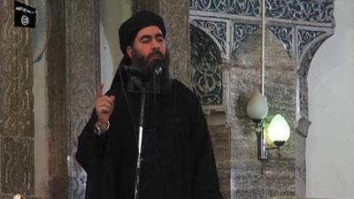 تصویر ادعای معصومیت داعشیان از سوی رهبر این گروهک تروریستی