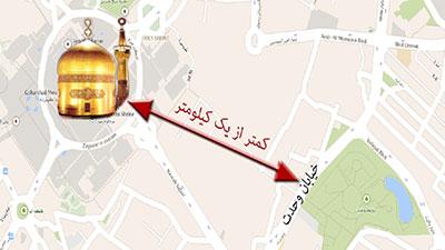 تصویر فعایت آزادانه سنی ها در شهر مشهد