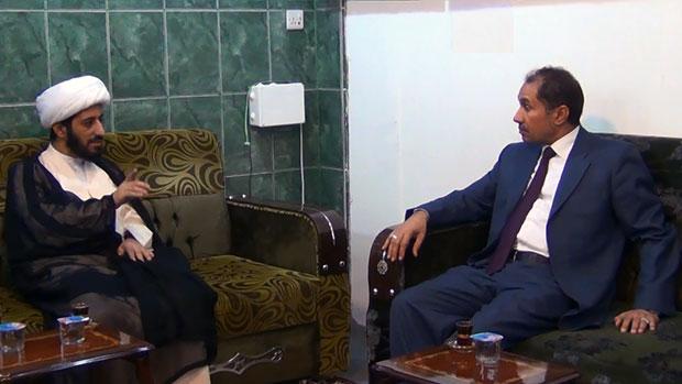 تصویر دیدار مدیر اداره اقامت کربلا با مدیر شبکه های امام حسین علیه السلام