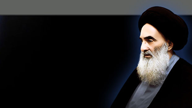 تصویر دیدار ایزدی ها با آیت الله العظمی سیستانی