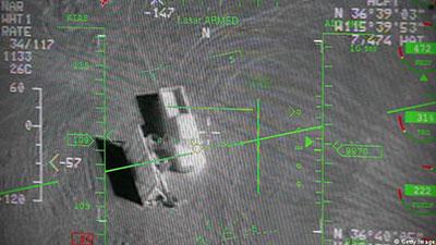 تصویر حمله نیروی هوایی عراق به داعش و هلاکت یکی از سران داعش