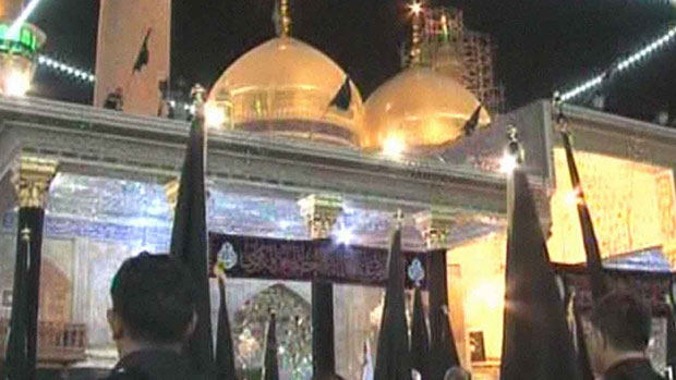تصویر عزاداری شیعیان در شهادت امام جواد علیه السلام