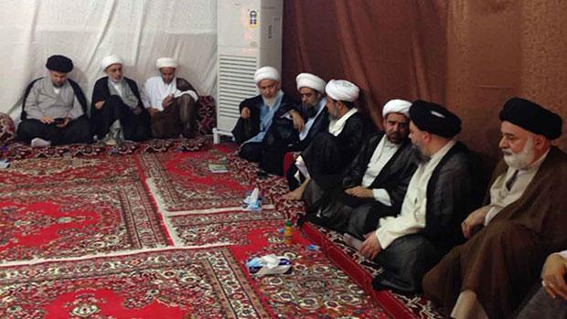 تصویر شروع فعالیت های بعثه آیت الله العظمی شیرازی در مکه