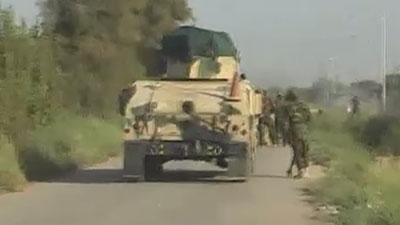 تصویر ادامه پیشروی ارتش عراق در استان صلاح الدین و پاکسازی منطقه البلد