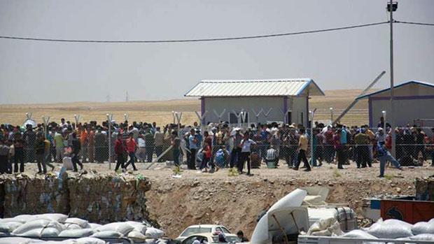 تصویر نزدیک به دو میلیون آواره عراقی پس از حمله داعش