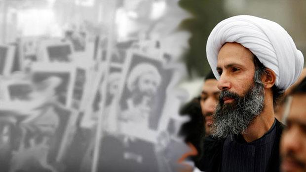 تصویر موج اعتراضات گسترده به اعدام شیخ نمر