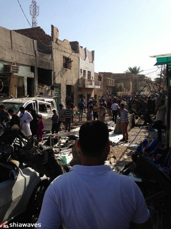 Photo of انفجار های پی در پی در شهر مقدس کربلاء