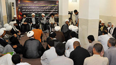 تصویر همایش سالانه مبلغان در آستانه آغاز محرم الحرام در کربلا