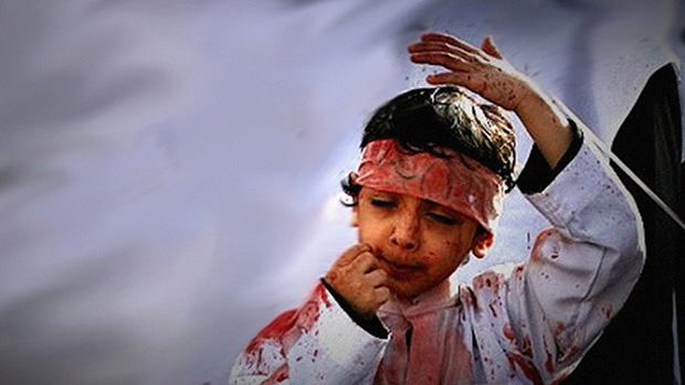 تصویر برپایی باشکوه سوگواره خون و شمشیر