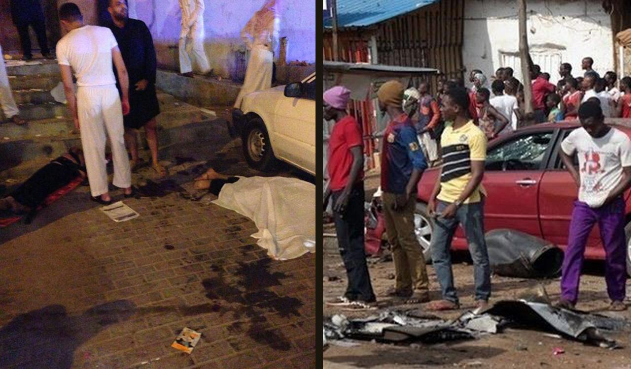 تصویر حملات تروریستی به عزاداران عربستان و نیجریه