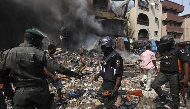تصویر نزدیک به 200 کشته و زخمی در پی انفجار تروریستی در شمال نیجریه