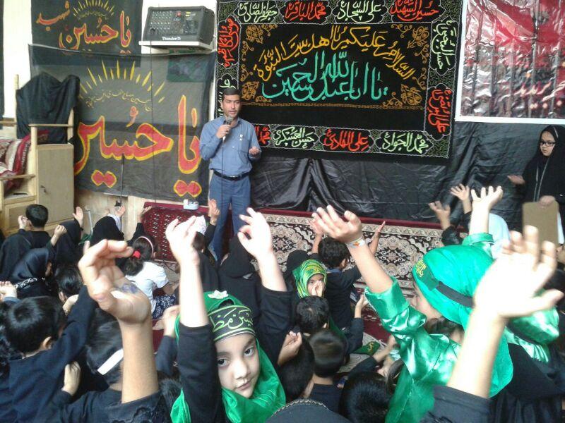 تصویر مجلس عزاداری نوجوانان در خرمشهر – ایران