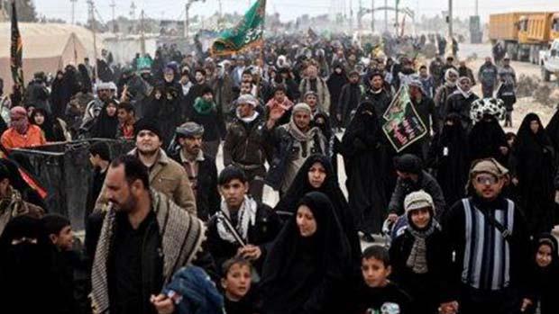 تصویر دشمنی آشکار رسانه ای با زیارت عظیم اربعین حسینی