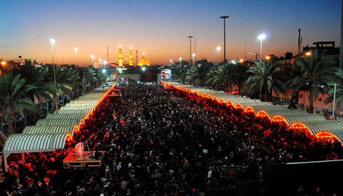 تصویر بازتاب رسانه ای مراسم اربعین حسینی
