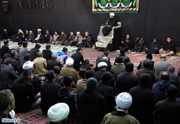 Photo of مراسم سوگواری اربعین حسینی در بیت حضرت آیت الله العظمی شیرازی
