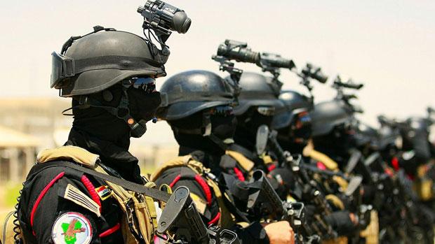 تصویر به عقب راندن تکفیری های داعش توسط ارتش عراق و گردان انصار الحسین (مقلدین آیت الله العظمی شیرازی)