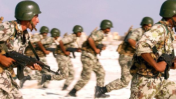 تصویر هلاکت ده تن از تروریست های داعش در شرق الانبار