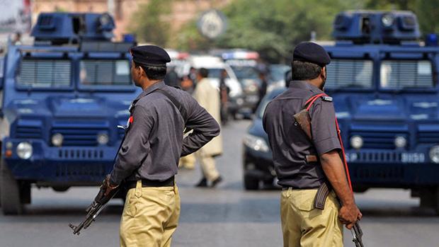 تصویر هلاکت 13 تن از نیروهای طالبان در کراچی پاکستان