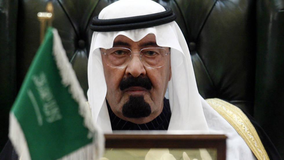 تصویر پادشاه سعودی درگذشت