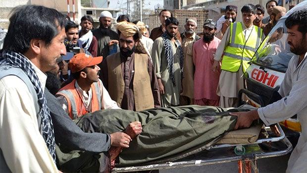 تصویر ترور سه تن از شخصیت های شیعی در پاکستان