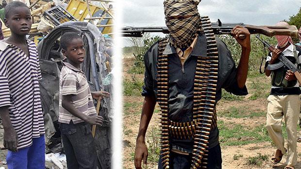 تصویر ربودن دهها کامرونی توسط تکفیری های بوکوحرام