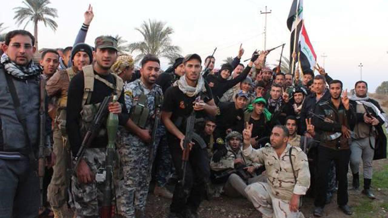 تصویر آزادسازی کامل استان دیالی از تروریست های داعش