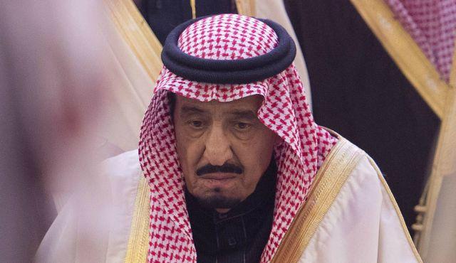 تصویر بازتاب گسترده بیماری شاه جدید سعودی در رسانه های جهانی