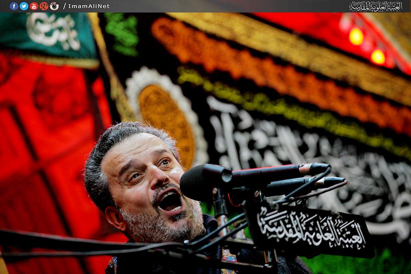 تصویر آغاز مراسم عزای فاطمیه در نجف اشرف