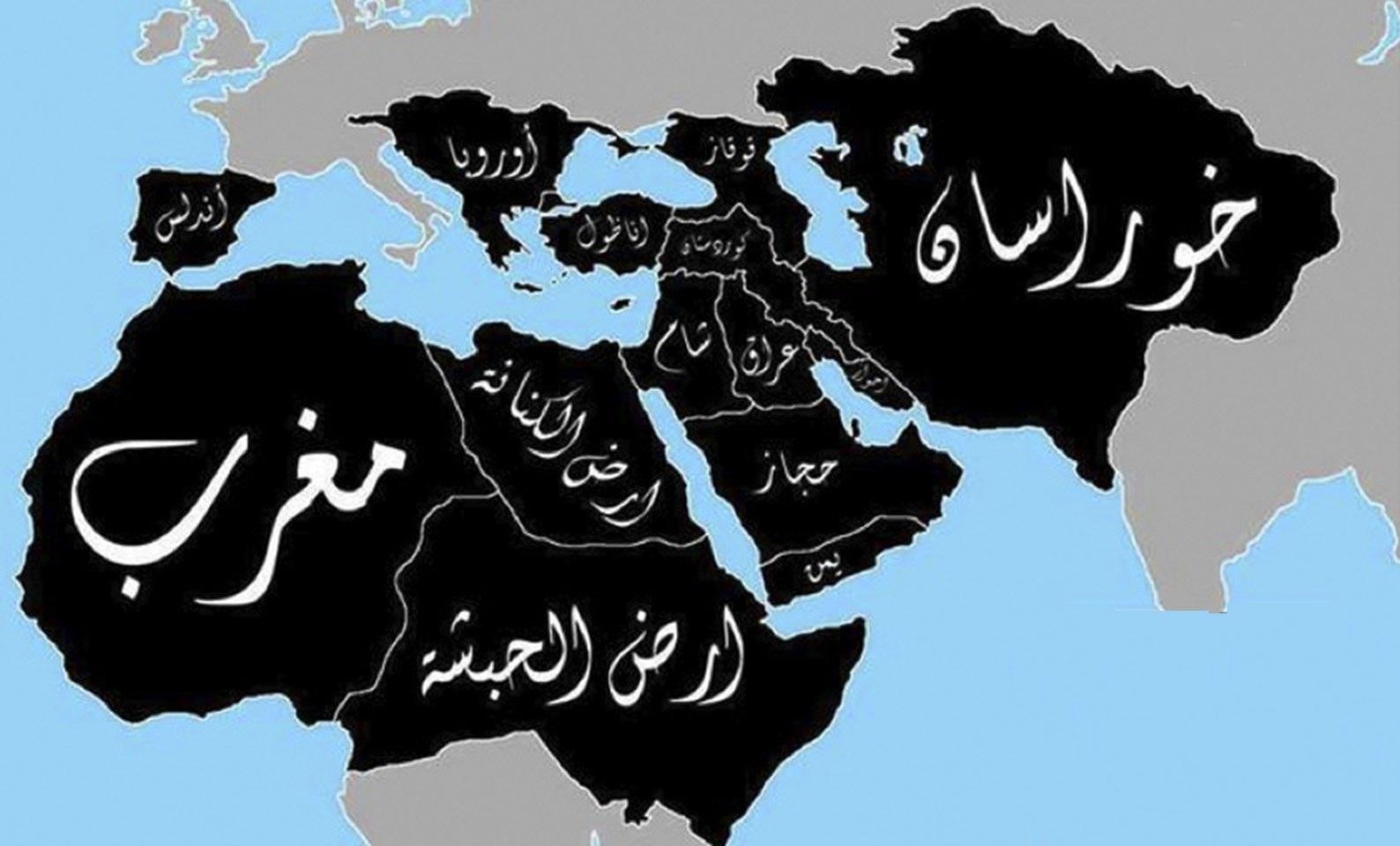 تصویر داعش خراسان را جزو قلمرو خود اعلام کرد