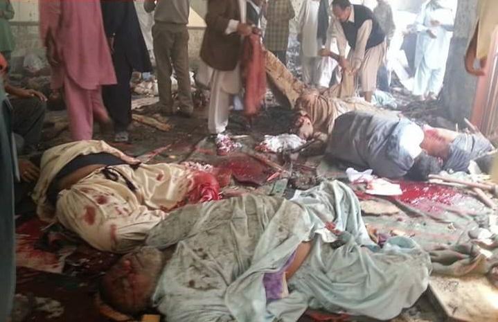 تصویر انفجار تروریستی در پاکستان