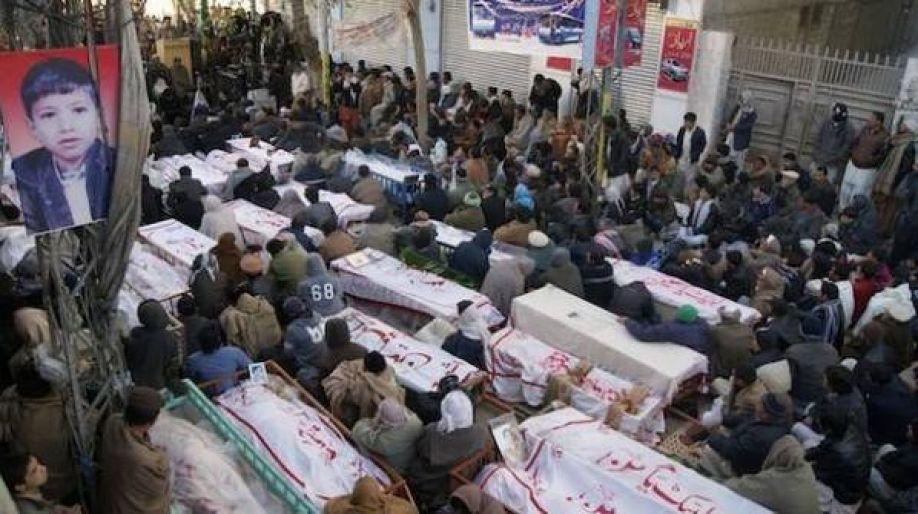 تصویر محکومیت حمله تروریستی به حسینیه پاکستان توسط شیعه رایتس واچ