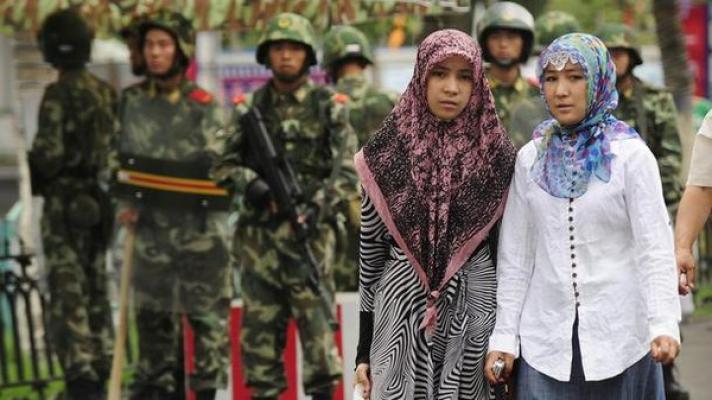 تصویر اقدامات نژاد پرستانه علیه مسلمانان چین